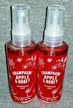 NEW 2-Pack CHAMPAGNE APPLE & HONEY Travel Mist Bath & Body Works - $15.00
