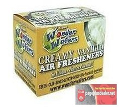 16- Wonder Wafers Creamy Vanilla Scent~Amazingly Fresh~ Air Freshener Ho... - $7.69