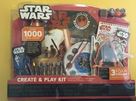 Star Wars The Force Awakens Create and Play Activity Kit 3+ Disney NEW - $17.99