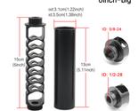 6 inch Big Single Core Aluminum Solvent Trap NAPA 4003 filter 1/2 WIX 1/2 - £31.80 GBP