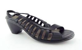 DANSKO Size 9 Black Leather Strappy Slingback Sandals Shoes 40 - $55.00