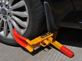 Wheel Lock Clamp Boot Tire Claw Trailer Auto Car Truck Anti-Theft  - $28.99
