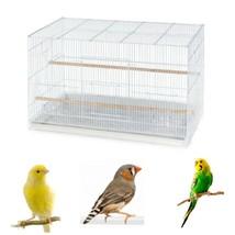 Small Birds Flight Cage Large Stackable Pet Big Birdcage Canary Parakeet... - $75.56