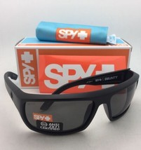 Polarizado Spy Optic Sol Bounty Negro Mate Marco con / Ansi Z87.1 Gris L... - $144.77