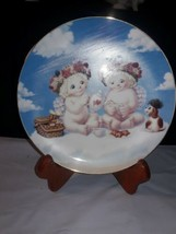 """Dreamsicles Special Friends """"A HEAVENLY TEA PARTY""""  Hamilton  Plate 1996 - $8.42"""