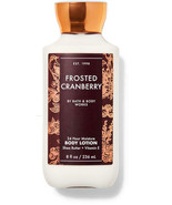 BATH AND BODY WORKS BODY LOTION  FROSTED CRANBERRY  8 FL OZ   - £11.27 GBP