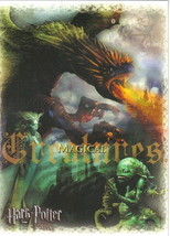 Harry Potter and the Goblet of Fire Magical Creatures Glossy Postcard 2005 NEW - $3.00