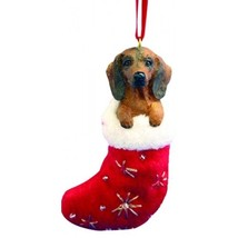 Dachshund Red Santa's Little Pals Dog Christmas Ornament - $8.99