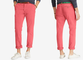 Polo Ralph Lauren Men's Classic Fit Chino Pants, Nantkt Red, Size 32X32,MSRP $85 - $49.49