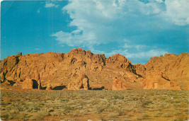 Chrome Postcard NV AH C170 Valley of Fire Lake Mead Overton NEVADA Lost ... - $6.00