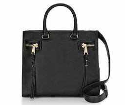 Rebecca Minkoff HF26IPBS44 Geneva Grained Cowhide Black Women's Bag - $167.31
