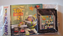 Toy Story 2 (Nintendo GBC 1999) WITH MANUAL - AUTHENTIC - $7.97