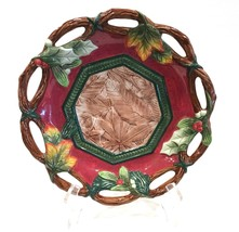 "Fitz and Floyd Lodge Christmas 10"" Plate Bowl - $26.99"