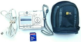 Canon Power Shot A520 Digital Camera with Memory card media transfer cab... - $47.00