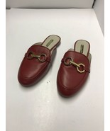 Louise et Cie Finay Women  Round Toe Leather Red Loafer size 6.5 M - $29.69