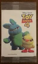 Disney Pixar TOY STORY 4 Ducky & Bunny Window Decal Sticker Decor Kellog... - $4.94