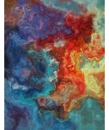 8.5X11 New Modern Abstract Picture Fine Art Poster Color Print Home Wall... - $12.16