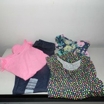 Carter's Girls Lot of 4 Pieces 3 Shirts and 1 Denim Leggings Size 6 - $32.62