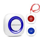 Wireless Caregiver Pager Call Medical Alert System with Wireless Call Bu... - $21.99