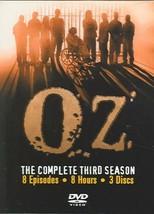 OZ - THE COMPLETE THIRD SEASON NEW DVD - $76.10