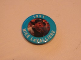 Rare 1991 Baseball Pin Pittsburgh Pirates Mike La Valliere Button 1 1/2 In Mlb - $5.34