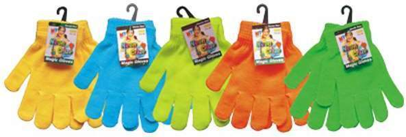 Case of [144] Magic Gloves - Bright Colors