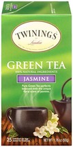 Twinings of London Jasmine Green Tea Bags, 25 Count - $5.58