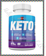 CONTROL X KETO Weightloss Supplement 60ct Fat Burner Keto HEAR Xtreme Formula - $39.95