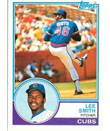 1983 Topps Lee Smith #699 Chicago Cubs -Hall Of Fame- - $3.12