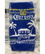 "Corona Beer Holiday Knit Beverage Bottle Insulator ""FELIZ NAVIDAD"" Chris... - $44.50"