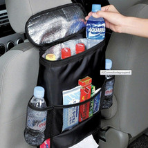 Zone Tech Car Travel Back Seat Organizer Insulated Food/Drink Thermos - $8.99