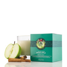 The Body Shop Limited Edition Spiced Apple 7.0 Ounces Scented Candle - $24.95