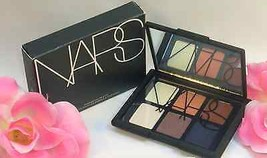 New NARS Eyeshadow Palette # 9947 6 Shades Smokey Eye Shadows & Glitter - $34.99
