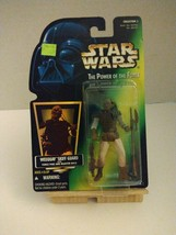 Hasbro Star Wars Power Of The Force Green Card Weequay Skiff Guard Actio... - $5.93