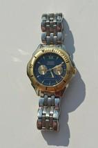 Guess Vintage Waterpro Men's 1990's Moon Phase Watch Works great ''GUARA... - $28.01