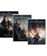 The Last Kingdom Complete Historical TV Series All 1-3 Season DVD Set Co... - $98.99