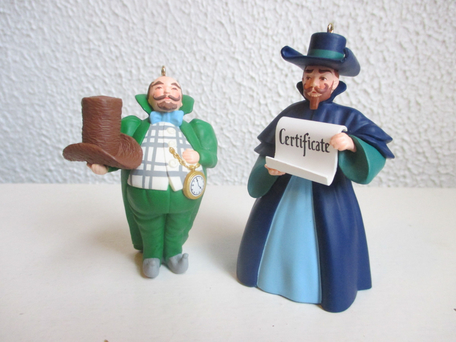 Primary image for Hallmark Munchkinland Mayor and Coroner ornaments Wizard of Oz