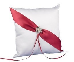Hortense B. Hewitt Wedding Accessories Shimmering Rose, Ring Bearer Pillow - $31.13