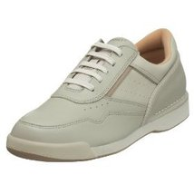 Rockport Mill Prowalker Sport Men's Sneakers 100% Genuine Leather 9M Solid New - $119.50