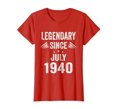 Brother Shirts - Legendary Since July 1940 78th Years 78 Birthday Shirt Wowen image 3
