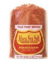 Old Time Brand Alaea Hawaiian Sea Salt Medium Grains 1 Lb. - $22.76