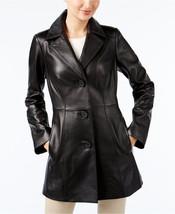 ANNE KLEIN Leather Topper Jacket  XS MSRP$480.00 - $148.50