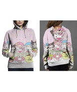 Hello Kitty Easter Egg Hoodie Fullprint Women - $43.99+