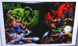 3x2 ft Hulk/Submariner/Silver Surfer/Dr Strange Marvel Comics Defenders poster 1 - $29.69