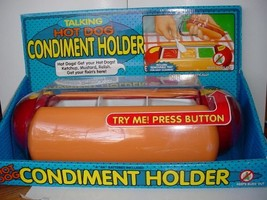 Talking Hot Dog condiment Holder - $146.68