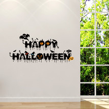 Horrible Hallowen Crow Glass Window Decor Wall Sticker Party House Home ... - $14.97