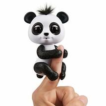 WowWee Fingerlings Glitter Panda -  Drew White & Black - Interactive Col... - $12.80