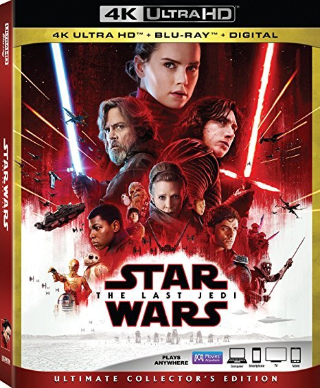 Star Wars: The Last Jedi (4K Ultra HD+Blu-ray+Digital, 2018)
