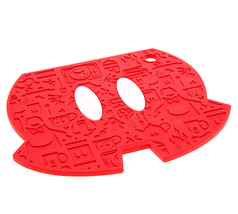 Disney Parks Mickey Mouse Pants Shorts Silicone Trivet NEW - $22.90