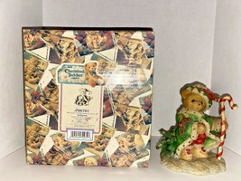 """Cherished Teddies Wolfgang """"The Spirit Of Christmas Is In All Of Us"""" Fig... - $24.99"""